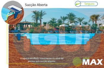 Segurança na piscina - sistema de segurança maxx